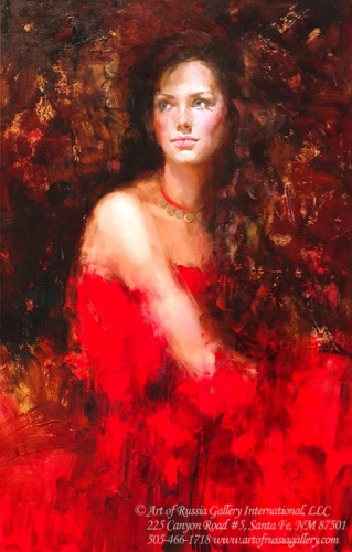 Irene Sheri - Woman In Red