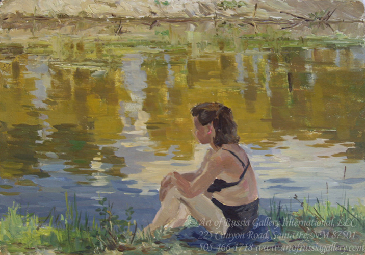 By the River - Petr Sulimenko
