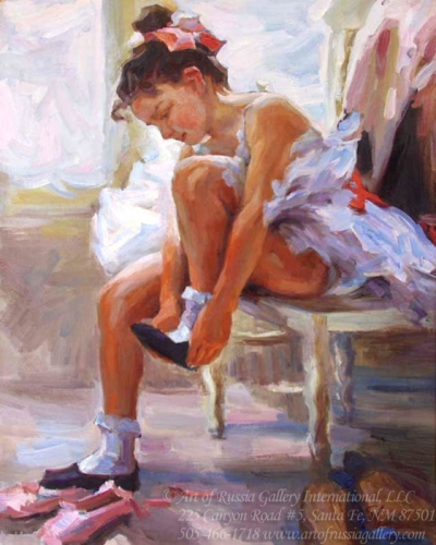 Shapovalenko - Young Ballerina - Sold