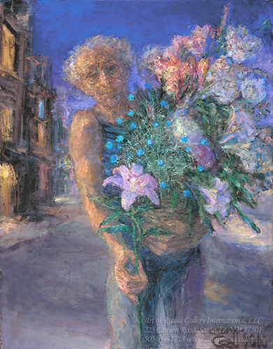 Yevgeni Shchukin - Salesman of Flowers