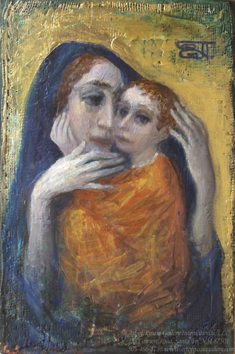 Yevgeni Shchukin - Madonna and Child