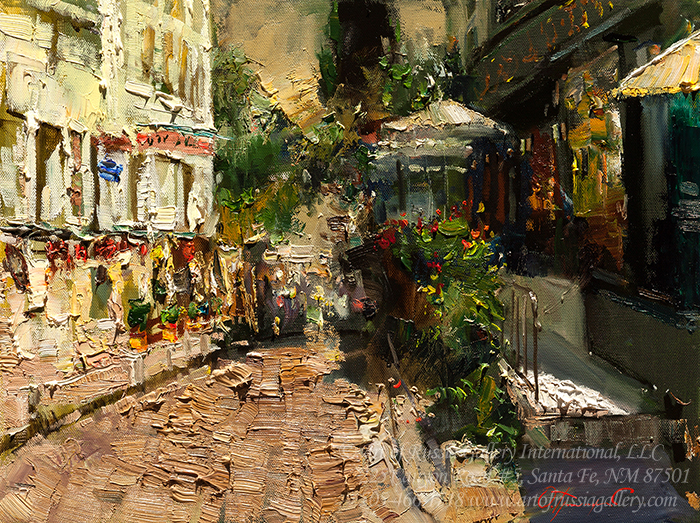 Oleg Trofimov - The Street in Paris
